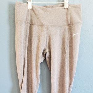 Nike dri-fit grey workout pants size s